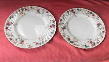 2 MINTON Ancestral Bone China England S376 DINNER PLATE 10 3/4""