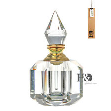 Clear Crystal Mini Refillable Perfume Bottle Empty 3ML Portable Crystal Storage