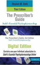 The Prescriber's Guide Online Bundle by Stephen Stahl (2010, Paperback / Mixed M