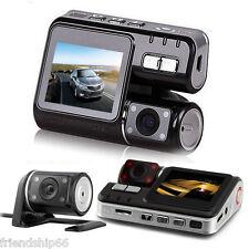 Full HD 1080P Dual Lens Car DVR Dual Camera Video Recorder Dash Cam Night Vision