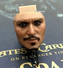 Hot Toys DX06 Pirates of Caribbean Jack Sparrow 1/6 Scale Smile Face Head Sculpt