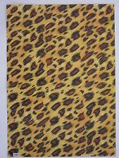 papier peint pour cartonnage ou reliure (thème:léopard,jaguar,panthère) 68X48cm