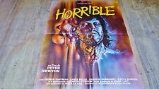 HORRIBLE ! joe d'amato  Claudio Lattanzi  affiche cinema  horreur  gore