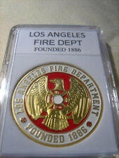 CITY OF LOS ANGELES Fire Dept. Commemorative Challenge Coin