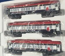 LIONEL BOSTON RED SOX 3 Lighted Passenger Train Cars 2 Coach & 1 Observation NEW