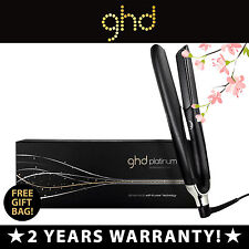 GHD Hair Straightener - Platinum (black) • New • Genuine • 2 Years Warranty