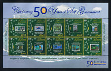 Cook Islands 2015 50th Anniversary of Self-Government Postage Sheet Set