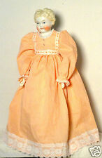 Antique 1870s-1880s 24 Inch Blond Child China Head Doll + 2 Dresses AD93013120
