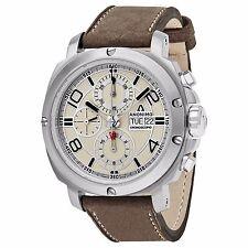 Anonimo Men's Cronoscopio Swiss Automatic Leather Strap Watch AM300001006A01