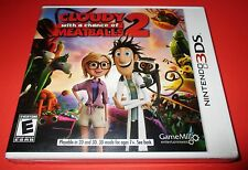 Cloudy With A Chance of Meatballs 2 Nintendo 3DS  Factory Sealed! Free Shipping!