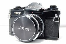 Canon EF 35mm SLR Film Camera  w/FL 28mm F3.5  SN307476  **Excellent+**