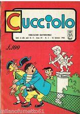 CUCCIOLO N. 2 del 1966 Edizioni Alpe