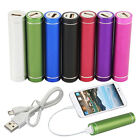 2600mAh Portable External USB Power Bank Battery Pack Charger Fits For iphone