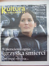 JENNIFER LAWRENCE on front cover Polish Magazine KULTURA PROGRAM TV, Miles Davis