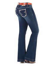 """Amethyst Jeans """"Delilah"""" Belted Fit & Flare Size 13 NWT"""