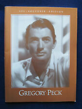 Original Program for 17th Annual AFI Lifetime Achievement Award to GREGORY PECK