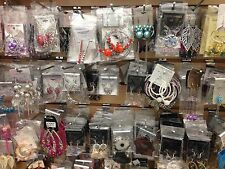 Closeout - Wholesale 20 Pairs Mix Style Hoop-Dangle-Earrings (USA seller)