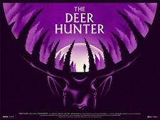 THE DEER HUNTER RARE QUAD POSTER BY LA BOCA LIMITED EDITION SCREEN PRINT