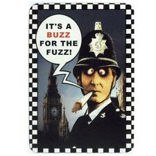 FUN - It´s A Buzz For The Fuzz - Aufkleber Sticker - Neu #271 - Drugs Joint