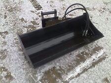 Grabenräumlöffel 80cm Löffel Minibagger hydraulisch MS01 NEU