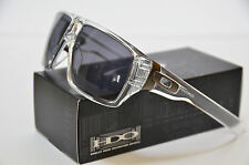 NEW Oakley Dispatch Sunglasses Polished Clear with Grey 9090-20 (MPH)