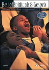 Best of Spirituals & Gospels Melody Edition NEW Schott 049008481