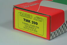 Tyrrell Ford P34 6 wheels Dutch gp 76 Tameo TMK 299 kit new! 1:43 n amr, bbr