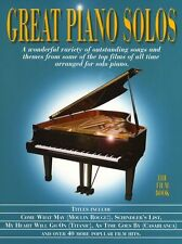 Great Piano Solos The Film Book Learn to Play Movie Hits Themes Tunes Music Book