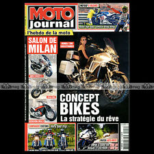 MOTO JOURNAL N°1929 TRIUMPH 500 SPEED TWIN, HARLEY 1540 DYNA WIDE GLIDE 2010