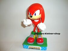 "Sonic the Hedgehog ""Knuckles"" Wackelkopf-Figur Wacky Wobbler Bobble Head-Knocker"