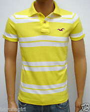 NEW HOLLISTER'S MEN'S JERSEY KNIT  POLO : SMALL