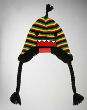 NWT Authentic Licensed DOMO RASTA Laplander Knit Beanie Hat SICK LID! LAST ONES!