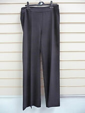 REDUCED LADIES BLACK TAILORED SMART FLARED TROUSERS SIZE 14 BNWT