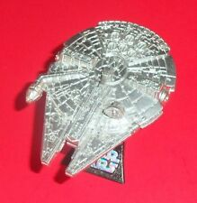 STAR WARS TITANIUM - LOOSE - MILLENNIUM FALCON - RAW METAL 5-PACK EDITION - 2006
