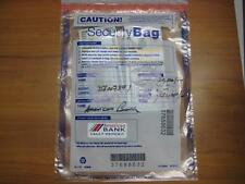 $20,000 US Dollars Cash in Sealed BANK Security Bag Prop Movie Fake Money New
