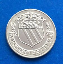 MANCHESTER CITY  FA CUP CENTENARY  (1872  - 1972 ) ESSO COIN / MEDAL