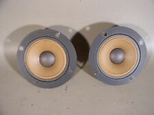 "Pair of JVC  3"" tweeter speakers from a SK-15 home speaker"