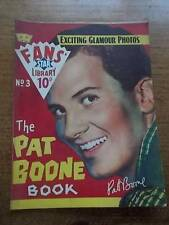 Vtg No 3 Magazine 1958 Fans Star Library Exciting Glamour Photos PAT BOONE