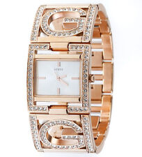 New Authentic GUESS Women's Rose Gold Bracelet Watch U15027L1 new with Tag