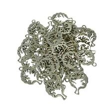 Wholesale 50 Hollow Out Tree of life Lucky Charms Pendants Jewelry Findigns