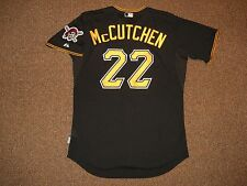Andrew McCutchen Pittsburgh Pirates Cool Base Authentic Jersey sz 48 Majestic B