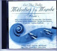 (EI683) Mélodies Du Monde, Vol 1, 20 tracks various artists - 1997 CD