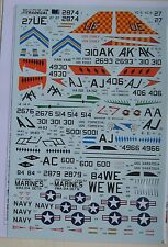 Xtradecal 1/72 X72180 Douglas A-4B Skyhawk Decal Set parte 2