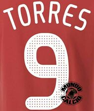 TORRES KIT LIVERPOOL CHAMPIONS LEAGUE NAME SET 2008-2010