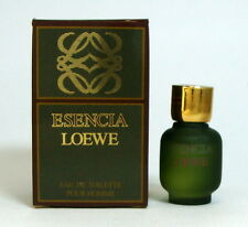 ESENCIA LOEWE EAU DE TOILETTE For Men 3 ML. 0.10 FL.OZ. Mini perfume vintage