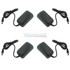 4 X AC/ DC 12V 1000mA 1A Power Source Adapter for Surveillance CCTV Camera US