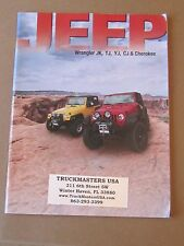 Jeep Accessories 2012 Brochure