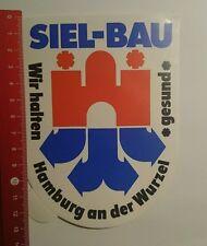Aufkleber/Sticker: Siel Bau wir halten gesund Hamburg an der Wurzel (01101617)