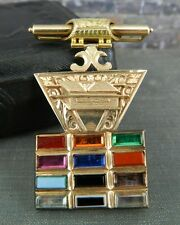 14K Yellow Gold Masonic Past High Priest Medal