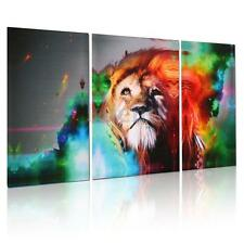 HD Canvas Print Abstract Lion Home Decor Wall Art Painting Picture 3PC Unframed